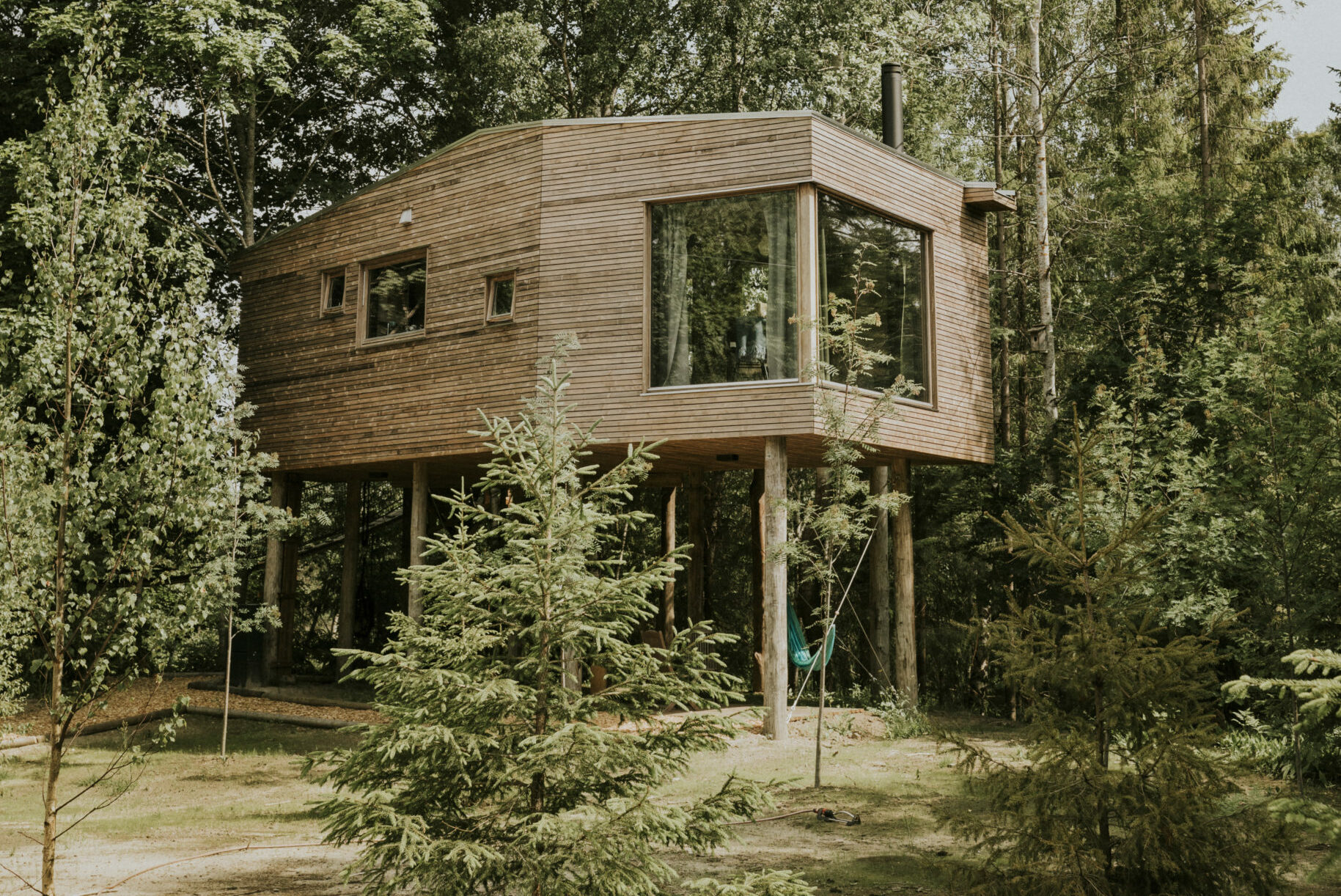 Vill du bo uppe bland trädtopparna?